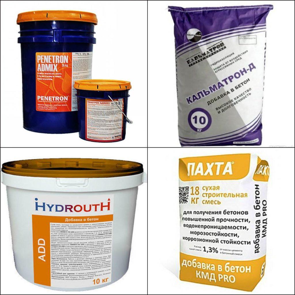 Гидроизолирующие добавки для бетона