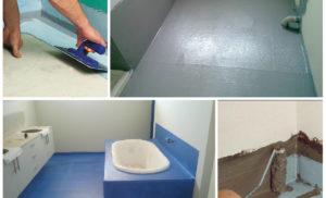 Как сделать гидроизоляцию пола в ванной