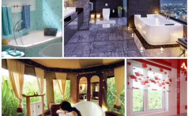 Как оформить дизайн ванной комнаты с окном