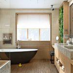 Кантри-ванная для загородных коттеджей