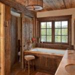 Интерьер для ванной в стиле английского кантри