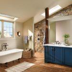 Комплект из потолочного и стенового оконных блоков