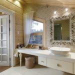 Мансардное криволинейное окно для ванной
