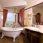 Окна с идеальной формой для ванны