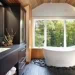 Мебель под мореную древесину для ванной