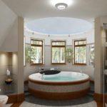 Удачное решение для эркерной зоны ванной