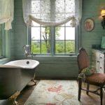 Средневековая классика в ванной