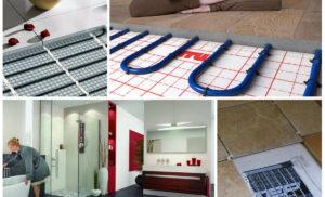 Как сделать теплый пол в ванной без ошибок своими руками