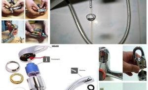 Как самостоятельно починить протекающий смеситель в ванной комнате