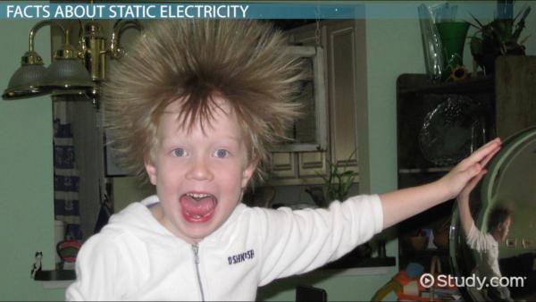 Воздействие статического электричества на человека