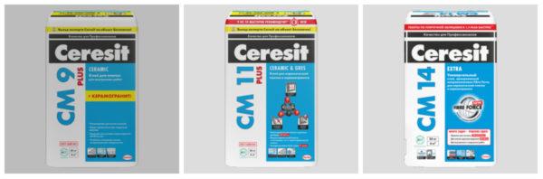 Клей Ceresit для керамической плитки