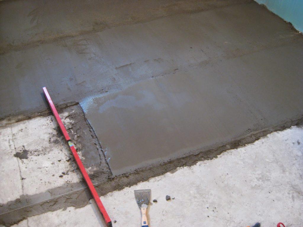 Цементный раствор для цементной стяжки 1 м3 керамзитобетона