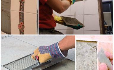 Что делать если отпала плитка в ванной