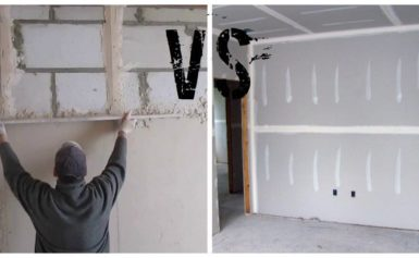 Как и чем правильно выровнять стены в ванной под плитку