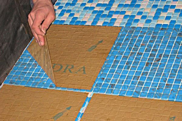 Мозаичный модуль на бумаге