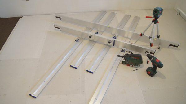 Набор инструмента для сухой стяжки