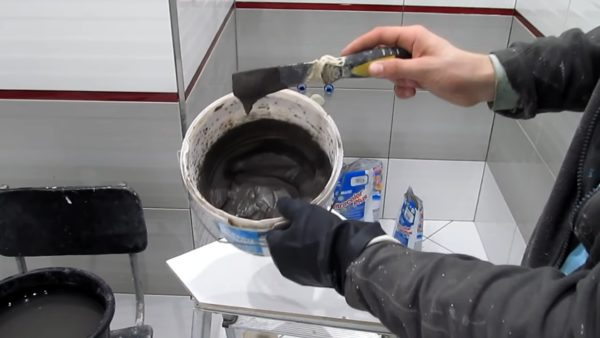 Правильная консистенция цементной затирки