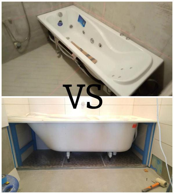 Сначала ванна или плитка
