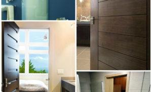 Как правильно выбрать дверь в ванную комнату