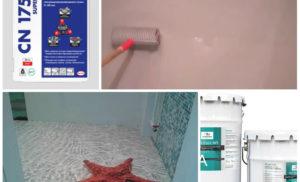 Как сделать наливной пол в ванной
