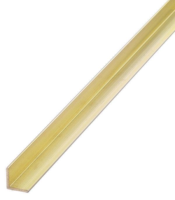Уголок для внутреннего угла латунный накладной