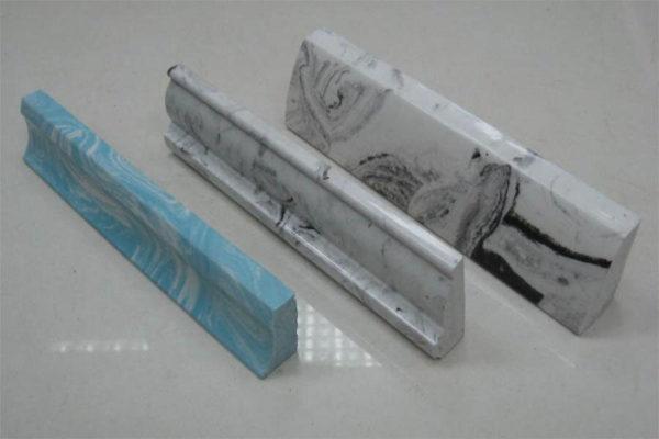 Бордюр керамический вместо плинтуса