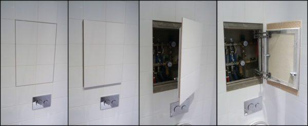 Обеспечение доступа к инженерным системам при помощи смотрового люка