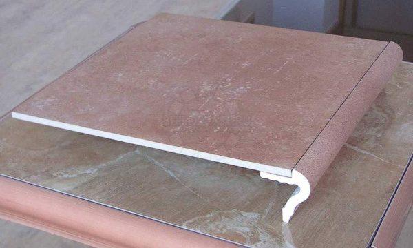 Клинкерная плитка с уголком для ступенек