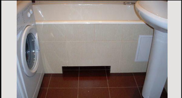 Перепланировка ванной брежневки