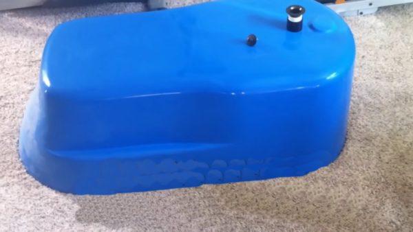 Пластиковая пресс-форма для ванны