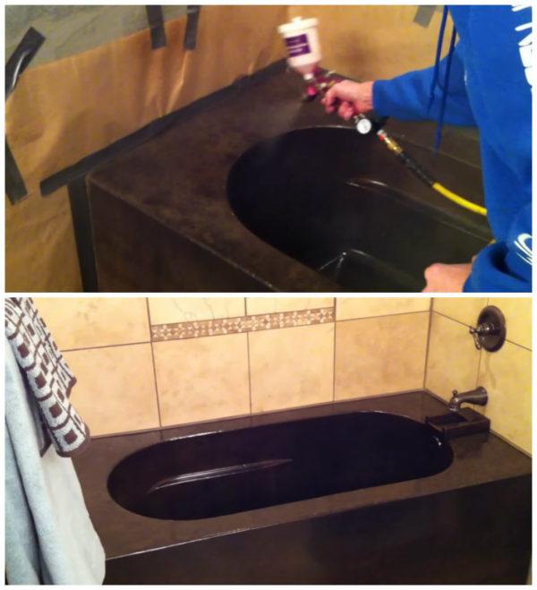 Завершающая отделка ванны