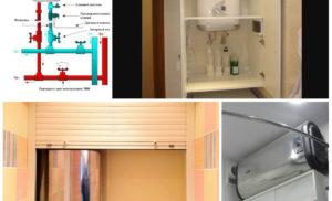 Как установить, спрятать и подключить водонагреватель в ванной