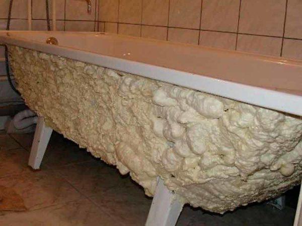 Запененная стальная ванна