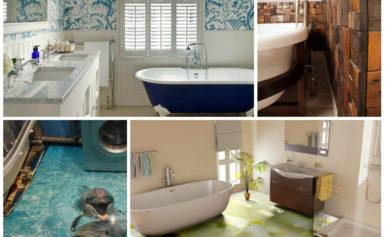8 альтернатив плитке в ванной комнате
