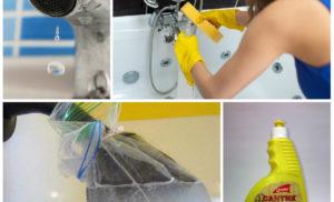 10 проверенных способов как почистить кран в ванной от налета