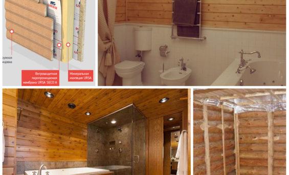 Как сделать ванную комнату в деревянном доме : возможности, ограничения и технологии
