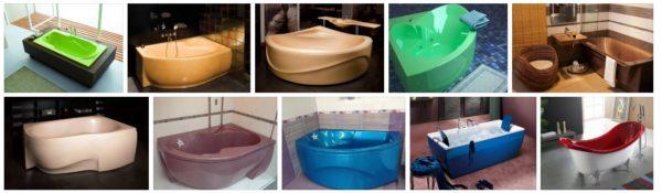 Цвет сантехнического изделия