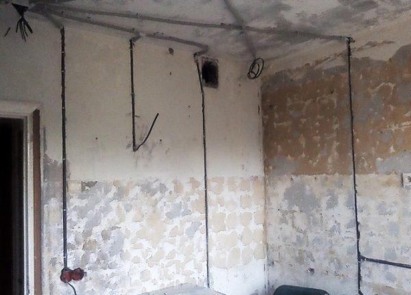 Разводка электрики в ванной комнате