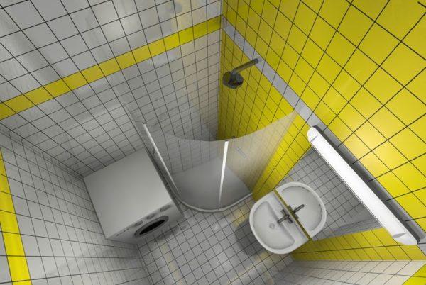 Душевая кабинка вместо ванны