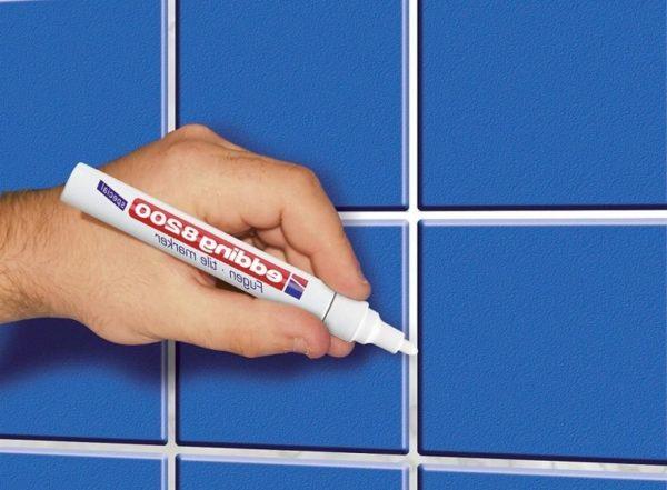 Отбеливающий маркер для швов