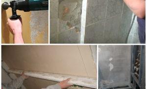 Как подготовить стены под плитку в ванной комнате