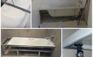 Как закрепить акриловую ванну к стене