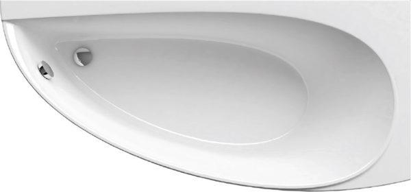 Сужающаяся каплеобразная форма ванны