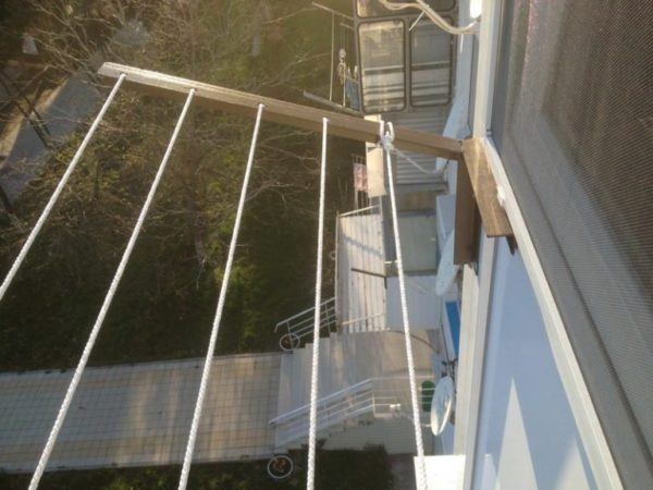 Уличная сушилка балконная бельевая