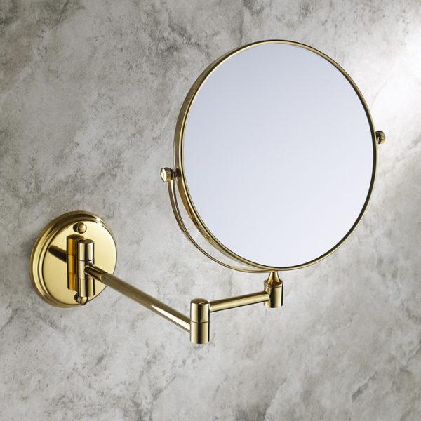 Косметическое зеркало на шарнире