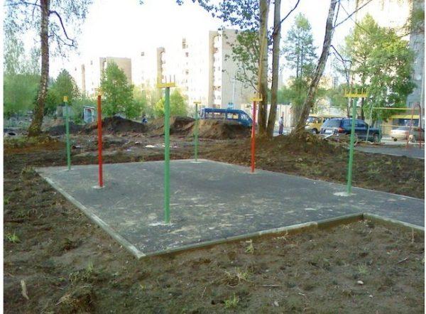 Площадка для просушки стираных вещей