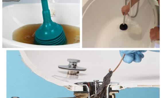 Почему плохо уходит вода в ванной