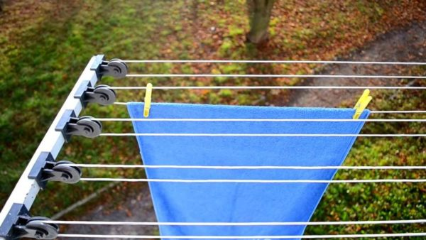 Внешняя сушилка для балкона