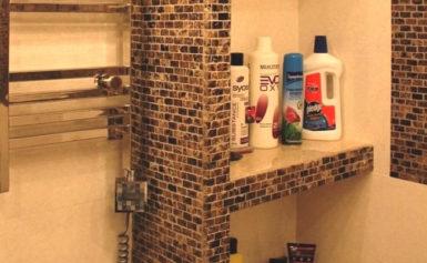 Как сделать полки из гипсокартона в ванной