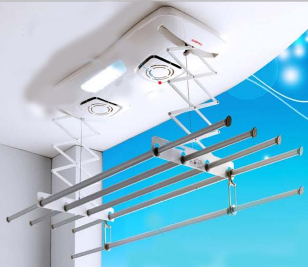 Электросушилка потолочная балконная
